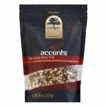 Tru Roots Organic Sprouted Rice Trio, 8 Oz (Pack of 6)