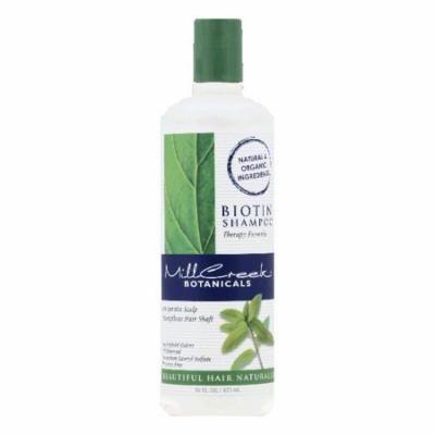 Mill Creek Botanicals Therapy Formula Biotin Shampoo, 16 OZ