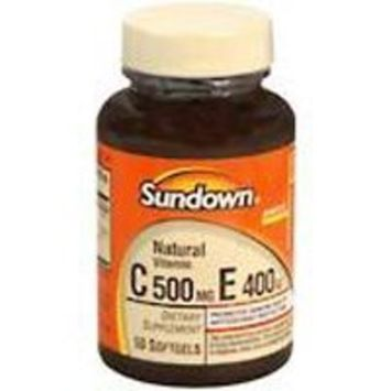 Sundown Naturals Vitamin C & E SOFTGELS SDWN Size: 50