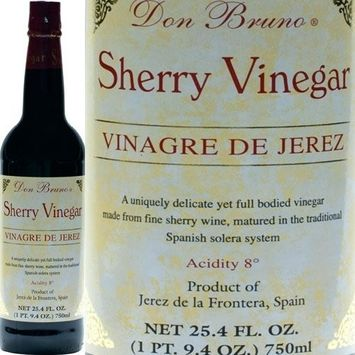 Don Bruno Sherry Wine Vinegar (Vinagre de Jerez) - 1 bottle, 25.4 fl oz