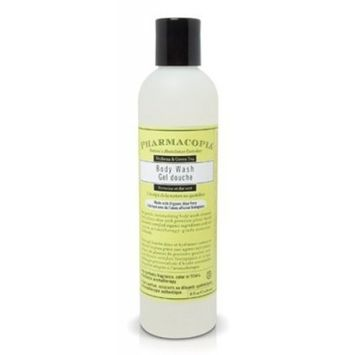 Pharmacopia: Verbena & Green Tea Body Wash, 8 oz