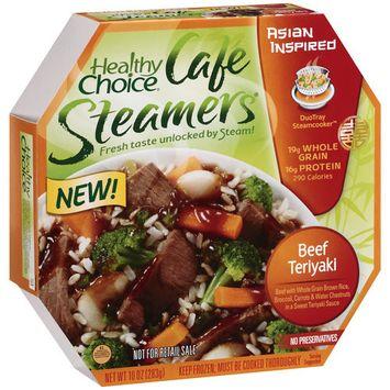 Healthy Choice Café Steamers Healthy Choice Cafe Steamers Beef Teriyaki, 10 oz