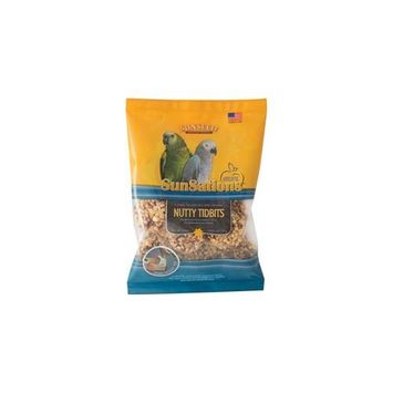 Sunseed 079742 Sunsations Tidbits For Parrots And Conures - Nutty 3.5 Oz.