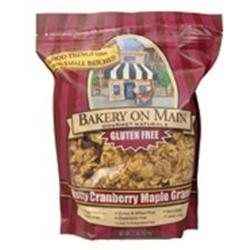Bakery On Main, Granola Gf Ntty Cranberry, 22-Ounce (04 Pack)