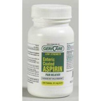 Qualitest ASPIRIN TABS 81 MG E/C *QLT- 300/BT Health and Beauty Health and Beauty