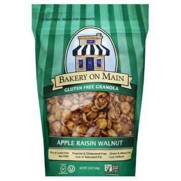 Bakery On Main Apple Raisin Walnut Gluten Free Granola, 12 Oz (Pack of 6)