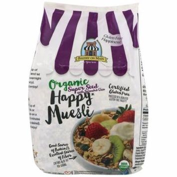 Bakery On Main, Organic, Happy Muesli, Super Seed With Sprouted Chia, 14 oz (pack of 6)