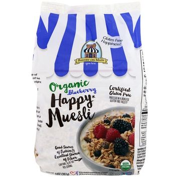 Bakery On Main, Organic, Happy Muesli, Blueberry, 14 oz (397 g) [Flavor : Blueberry]