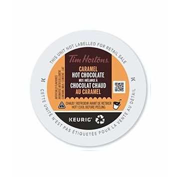 Tim Hortons Caramel Hot Chocolate, Single Serve Keurig Certified K-Cup Pods for Keurig Brewers, 10 Count