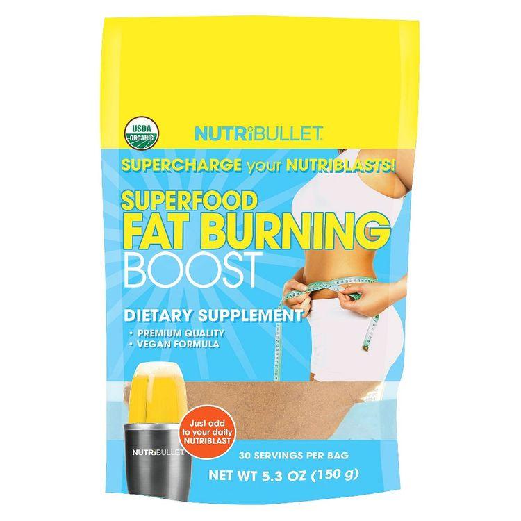 Nutribullet superfood fat burning boost target