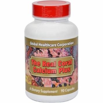 Global Healthcare The Real Coral Calcium Plus, 90 CT