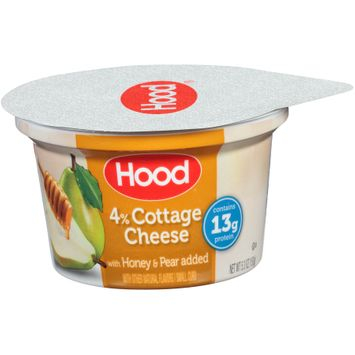 Hood® 4% Small Curd Cottage Cheese with Honey & Pear Added