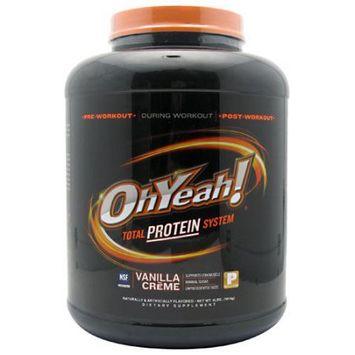 ISS, OhYeah! Protein Powder Vanilla Crme 4 lb