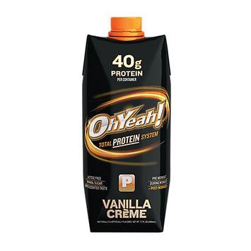 Iss 100716 17oz OhYeah Protein Powder Vanilla Creme 12Case
