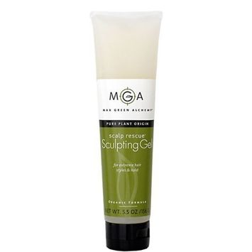 Max Green Alchemy Organic Formula Sculpting Gel Tube (5.5 Ounces)