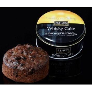 Ashers Island Single Malt Whisky Cake 180g/6oz (Island Single Malt)