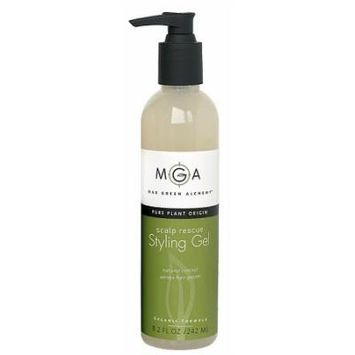 Styling Gel - Scalp Rescue Organic By Max Green Alchemy 16.2 Oz.