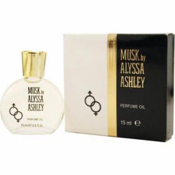 Alyssa Ashley Musk Perfume Oil .50 Oz By Alyssa Ashley