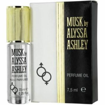 Alyssa Ashley Musk Perfume Oil .25 Oz By Alyssa Ashley