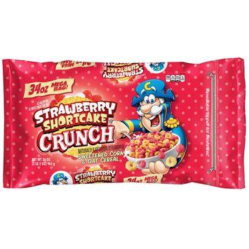 Cap'n Crunch's Cereal, Strawberry Shortcake, 34 oz Mega Bag