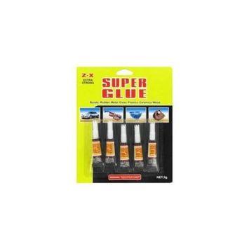 Deluxe Import Trading 3-HW0201 Super Glue - 48 Packs