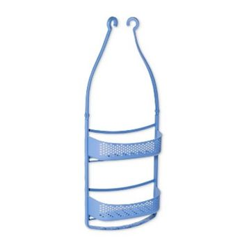 Snorkel Thermoplastic Rubber Shower Caddy Bicycle Blue - Loft By Umbra