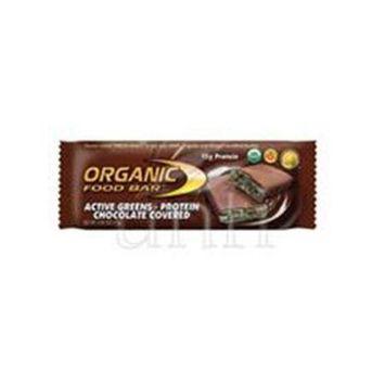 One Degree Organic Foods Bar 95% organic Act Grn Chocolate Cvrd 2.4 Oz -Pack of 12