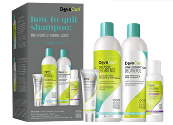 DevaCurl How To Quit Shampoo For Hydrated Natural Curls Kit