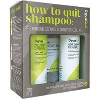DevaCurl How To Quit Shampoo: The Original Cleanse & Condition Curl Kit