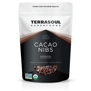 (3 pack) Terrasoul Superfoods Organic Raw Cacao Nibs, Fermented, 6.0 Oz [multipack_quantity: multipack_quantity-3]