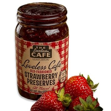 The Loveless Cafe Strawberry Preserves 8 oz [Strawberry]