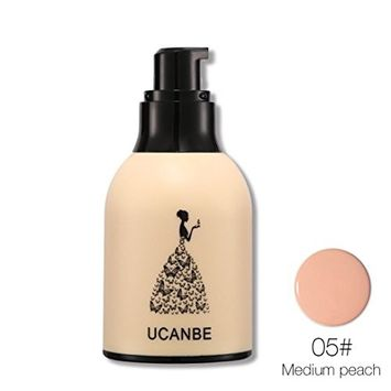 Multifunction Liquid Foundation, Lotus.flower Women Flawless Lasting Natural Moist Foundation Makeup Smooth Concealer - Conceal Flaws and Dark Circles Brighten Your Skin