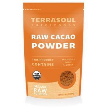 Terrasoul Superfoods Organic Cacao Powder, 1 Pound [Cacao Powder]