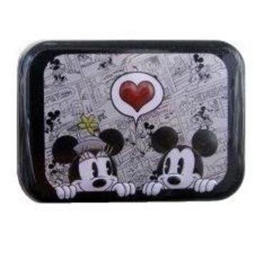 Disney Mickey Minnie 30 Cotton Swabs In A Collector Tin Series #2