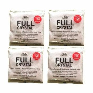 Full Crystal Powder,Glass Cleaner for Fuller Brush Full Crystal,Window and All Purpose Cleaner 4pcs/lot