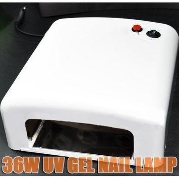 36W UV Gel Curing Lamp - White CODE: #70W/123W