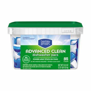 Berkley Jensen Advanced Clean Dishwasher Pacs, 85 ct.