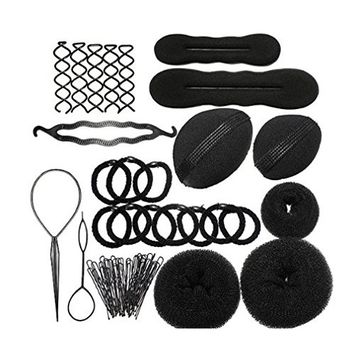 Le Fu Li Hair Styling Accessories Kit Set for DIY