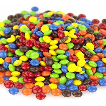 Micro Candy-Coated Cookie Bits, Semi-Sweet Chocolate, 12 Oz. Bag