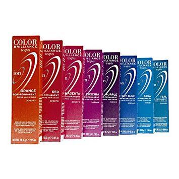 Ion Color Brilliance Brights Semi-permanent Hair Color Azure
