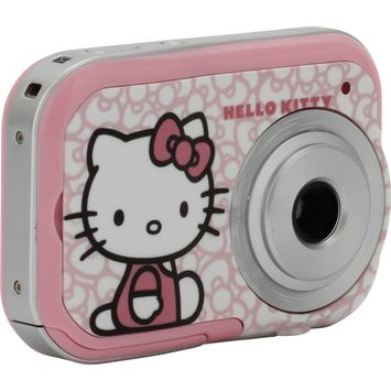 Hello Kitty 2.1MP Digital Camera w/ Changing Faceplates - SAKAR INTERNATIONAL, INC.