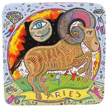 European Soaps, LLC, Pre De Provence, The Zodiac Collection, Aries, 3.5 oz (100 g) [Scent : Aries]