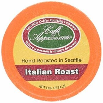 Caffe Appassionato Coffee for Keurig K-Cup Brewers, Italian Roast, 96 Count