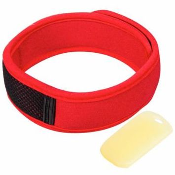 Natural Mosquito Repellent Wristband Includes 2 Tablets - One Size Fits Most