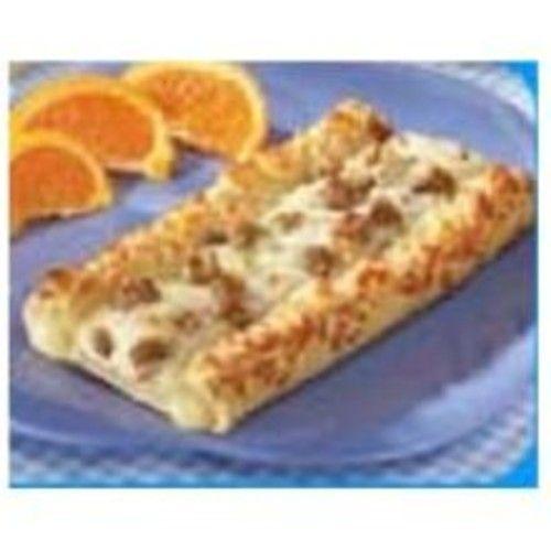Conagra The Max Whole Grain Sausage and Gravy Breakfast Pizza, 3.05 Ounce - 96 per case.