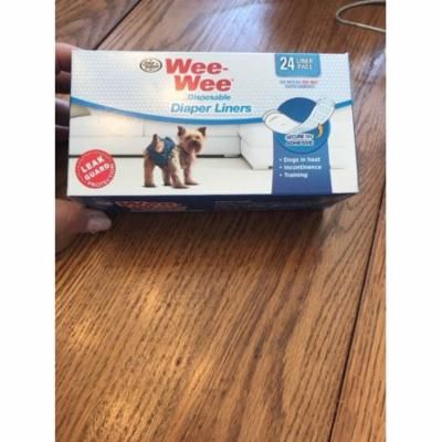Wee-Wee Disposable Diaper Liners, 24 Pack Ships N 24h