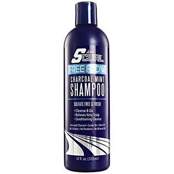 Luster's SCurl Free Flow Charcoal Mint Shampoo