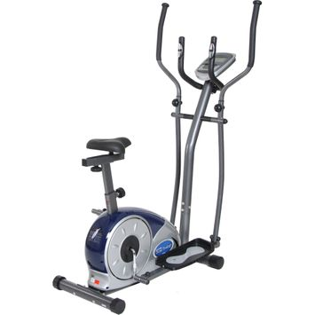 Exercise Bikes Body Champ BRM3681 Cardio Elliptical Dual Trainer