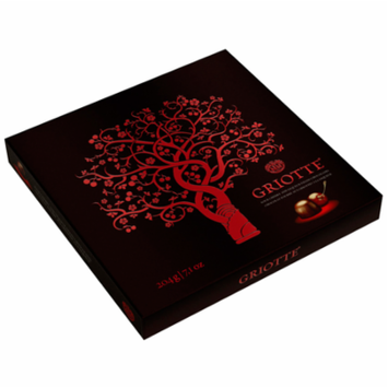 Griotte, (Kras) 204 g, Chocolates Filled with Sour Cherry in alcohol