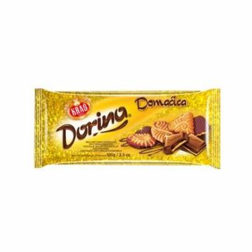 Dorina Domacica Chocolate Bar, 100g (3.5 oz)